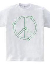 Shake Hands Peace GREEN