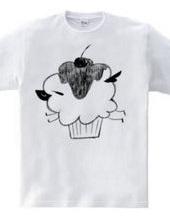 羊のカップケーキ