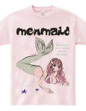 RETRO MERMAID 人魚姫 ピンナップ