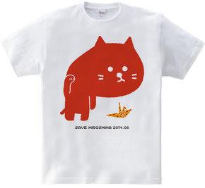 招き猫背(紅葉柄)