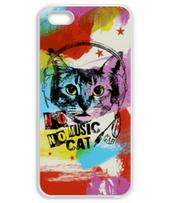 Colorful Music Cat