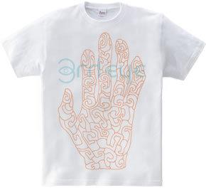 hand+
