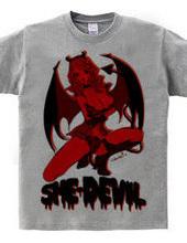 Diable Rouge 赤い小悪魔ガール ピンナップ