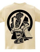 家紋 鎧 丸に剣三つ柏