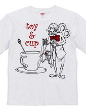 Toy and cup