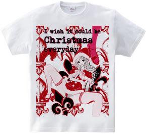 毎日がクリスマスだったら ガールズイラスト