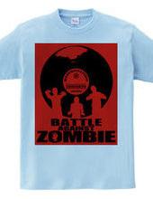 Battle against zombies
