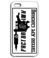 タトゥー マシン モチーフ ロゴ(黒) ケース  iphone5,5s,6