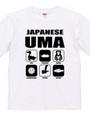 日本の未確認生物Tシャツ