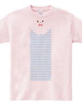 くいこみ Tシャツ ストライプ