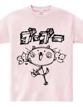 にゃんこGOGO Tシャツ