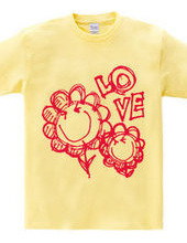 Happy smile flower t-shirt