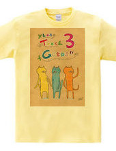 Three cats