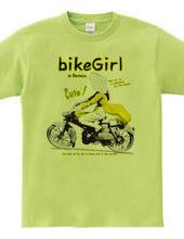 motor bike girl