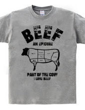 I LOVE beef! Cow parts vintage style