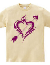 Heart tribal Steal Your Heart-Purple