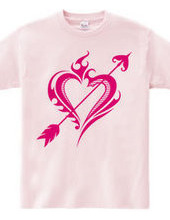 Heart tribal Steal Your Heart-Magenta