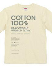 6.2 oz T shirt.