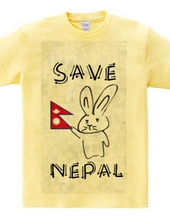 ネパール支援ウサギ