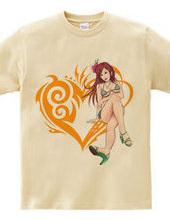 Heart type2 -ビキニのお姉さん- Orange