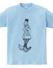 フリル人魚姫