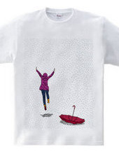 she and rain and umbrella  # c o l o r 0
