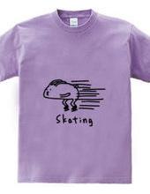 アイススケート 華麗なウサギ