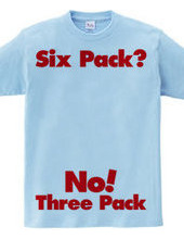 It's still three pack