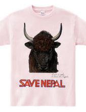 SAVE NEPAL (yak)