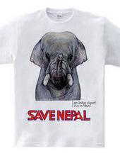 SAVE NEPAL (インドゾウ)