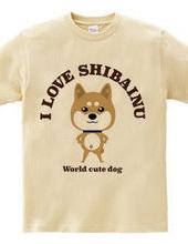 【世界一可愛い犬】I LOVE 柴犬
