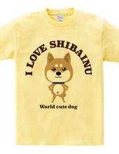 [World's pet dog] I LOVE inu