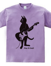 Cat Playing The Electric Guitar ver.2