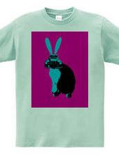 Collage Art Rabbit