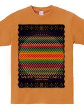 手編みとスノー印