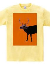 Collage Art Deer