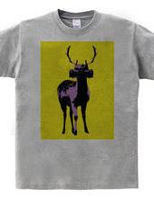 Collage Art Deer #2
