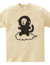 Monkey on cloud