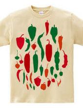 Green & Red pepper