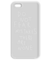 Do not fear mistakes. There are none.