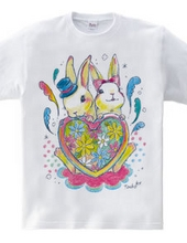 Reconstruction support t-shirt (rabbit)