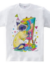 復興応援Tシャツ(ネコ)