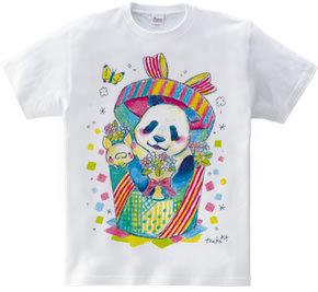 復興応援Tシャツ(パンダ)