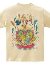 幸せウサギ