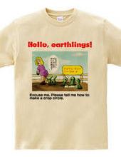 Hello, earthlings! 3