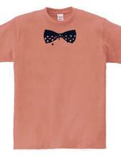 Trickling polka-dot bow ties