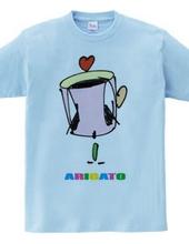 かしげるコーヒーカップ