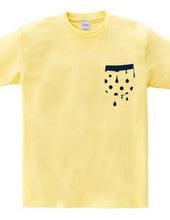 Trickling polka-dot Pocket