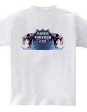 Saber-toothed cat/violet (back)