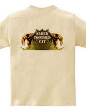 Saber-toothed cat Gold (back)